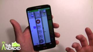 How to use Slide Aside on the LG G2