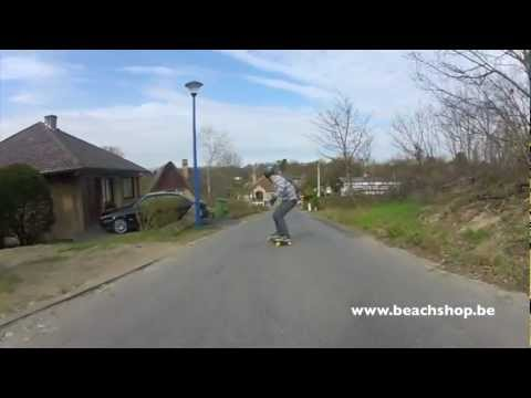 Beachshop longboard teammovie