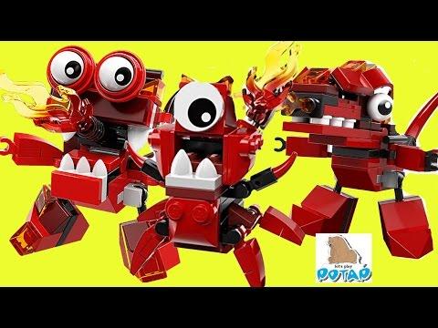 Лего Миксели Мультик! Lego Mixels Series 4 Infernites ИНФЕРНИТЫ! Лего Мультики. Детский Канал