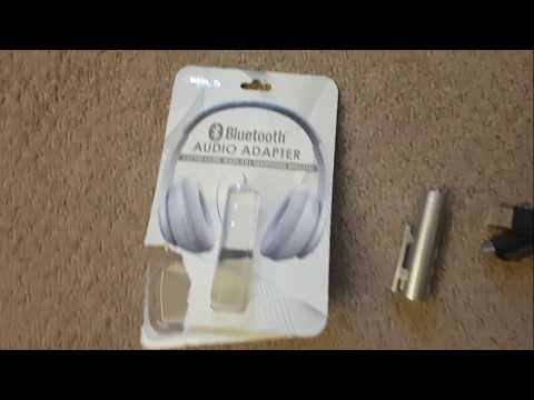 Turn any wired headset WIRELESS! (Gabba Goods Bluetooth Audio Adapter Review)