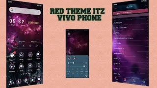 RED THEME ITZ FOR VIVO PHONE  2019