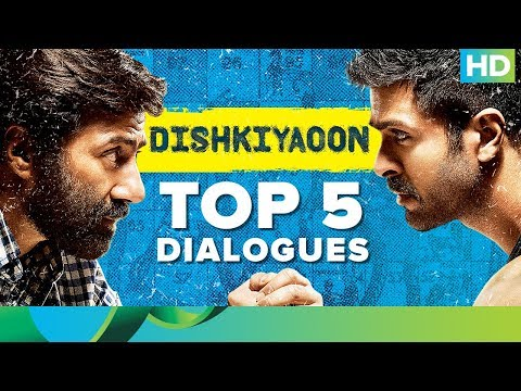 Dishkiyaoon | Top 5 Dialogues | Harman Baweja | Sunny Deol