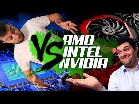 Intel vs. AMD vs. Nvidia | Come siamo messi?