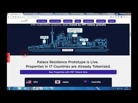 PRT Token - торговля недвижимостью с более высокой ликвидностью и низкими затратами