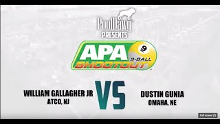 2019 APA 9-Ball Shootout Championship - Black Tier Finals - American Poolplayers Association