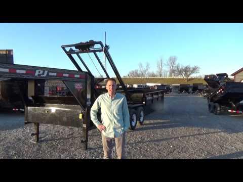 PJ Roll Off Dump Trailer @ DR Trailer Sales
