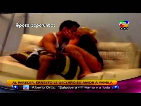 COMBATE: Ernesto Declaro su Amor a Yamila 10/12/13