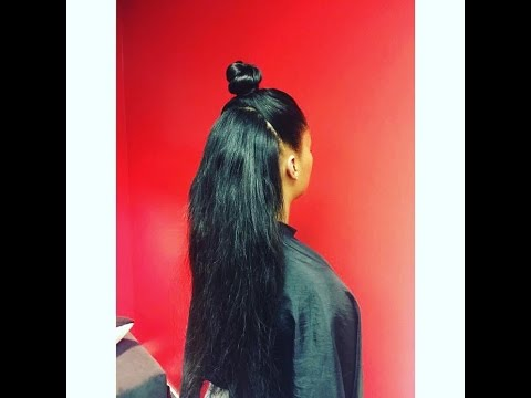 VIXEN TWO PART SEW-IN WEAVE TUTORIAL by @NYNYSTYLE