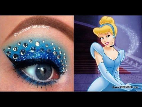 make up návod, líčenie návod, ako byť krásna, líčenie očí, očné tiene, dievčenské veci, princeznovský make up, disney princezná, popoluška