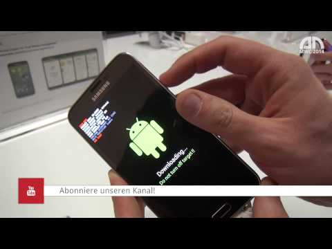 Samsung Galaxy S5 - Download-Modus (Download Mode) -MWC 2014 - androidnext.de