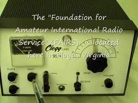 Clegg 99'er six meter ham-amateur radio transceiver 1961  Floyd Virginia LCF Group