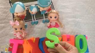 Đồ Chơi Trẻ Em Và Trò Chơi Giúp Bé Thông Minh Nhận Biết Về Các Chữ Cái - ToysReview - BB Channel