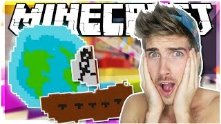 PIRATES AND PLANETS!? | Hypixel Pixel Painters Minigame | Minecraft | [EP2]