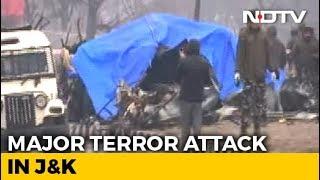 40 CRPF Men Killed In Blast In Kashmir's Pulwama, Worst Attack In Years