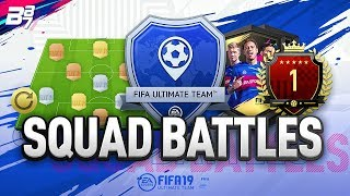 1ST IN THE WORLD! TOP 100 SQUAD BATTLES REWARDS | FIFA 19 ULTIMATE TEAM