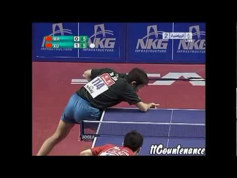 Best Of : Xu Xin Vs Ma Long [HD]