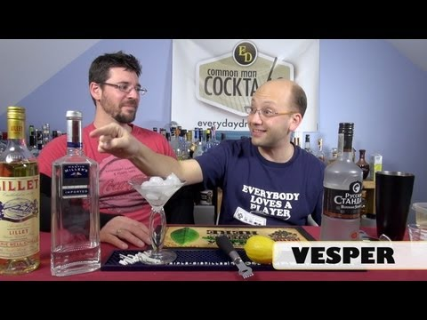 The Vesper, A Classy Cocktail HowTo