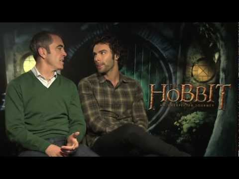 James Nesbitt And Aidan Turner Interview -- The Hobbit