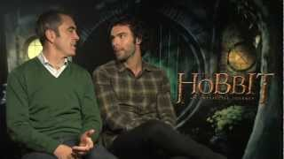James Nesbitt And Aidan Turner Interview -- The Hobbit | Empire Magazine