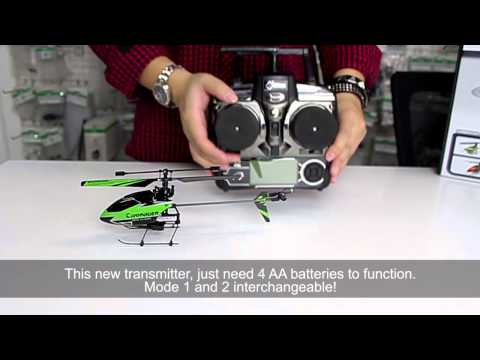 WL Toys V911-1 4CH 2.4GHz Mini Helicopter Unboxing @ RC-Fever.com
