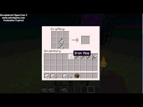 Minecraft hoe maak je pickaxe sword bijl enz youtube - Hoe maak je een woonkamer ...