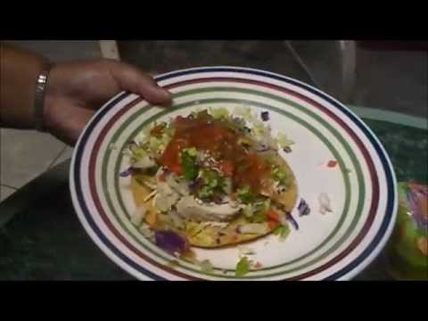 Chicken Tostadas a delicious easy meal