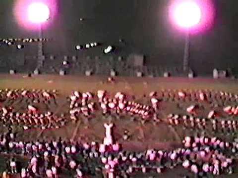 Acadiana High School Marching Band 1985