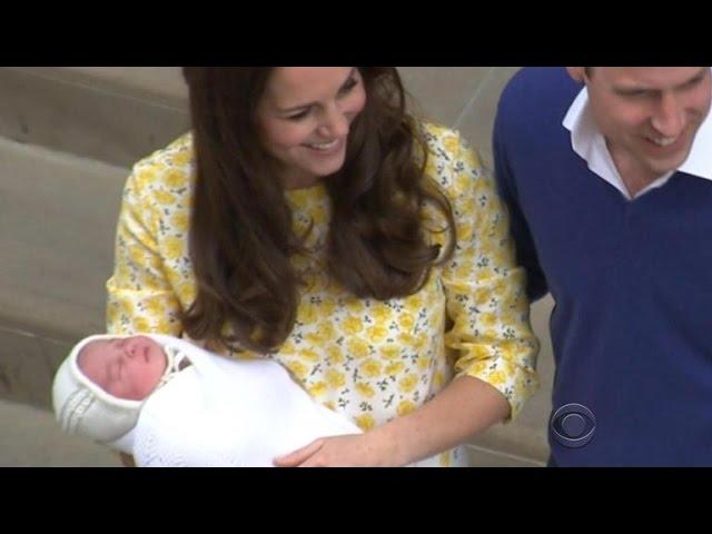 Royal family debuts baby princess
