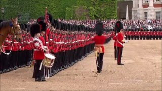 British Grenadiers-Royal Guards Trooping The Colour 2012