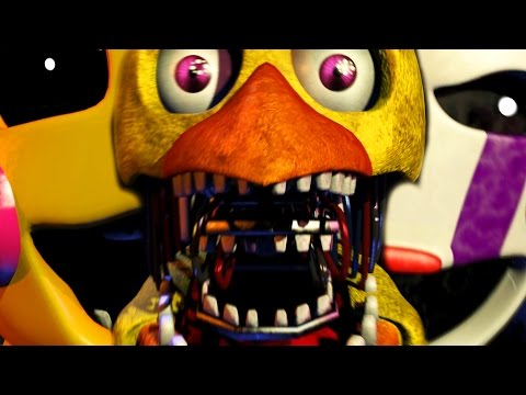 Five Nights At Freddy's 2 Demo Gameplay Night 3 - FREDDY MINI GAME? (Grand Reopening)