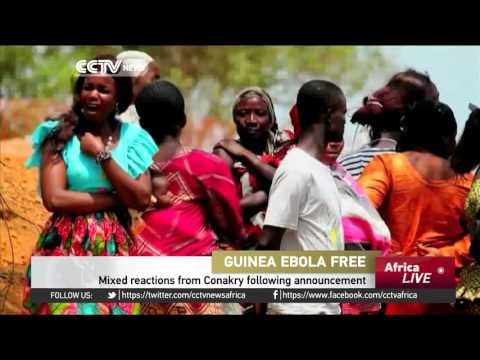 Mixed reactions in Guinea after being declared Ebola free