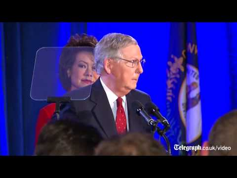 US midterms: Mitch McConnell on Republican Senate victory