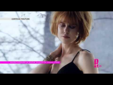Nicole Kidman es la nueva imagen de Jimmy Choo para la colección Otoño - Invierno 2013-14