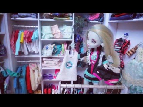 Видео одежды для кукол монстер хай своими руками