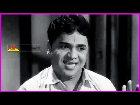 Ramu Telugu Movie Comedy Scene - Ntr , Jamuna ,pushpalatha video