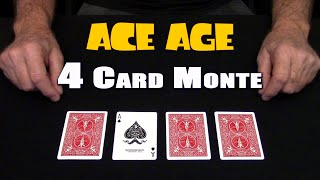 4 Card Monte (ACE AGE) ~ An In Depth Tutorial