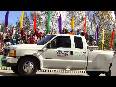 Fresh From Florida Parade 2011: Pace Brantley School Float