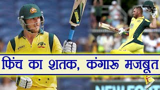 India vs Australia 3rd ODI : Aaron Finch Slams 8th ODI Hundred | वनइंडिया हिंदी