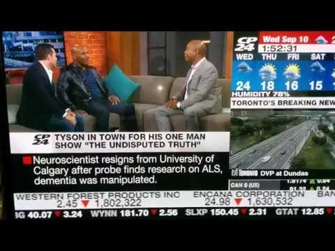 [ORIGINAL] Mike Tyson Goes Crazy on Live Canadian News