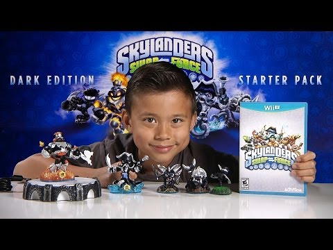 Skylanders SWAP FORCE - DARK EDITION Starter Pack - Unboxing. Review & Gameplay!