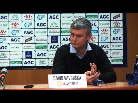 Tisková konference domácího trenéra po zápase s Brnem (2.4.2016)