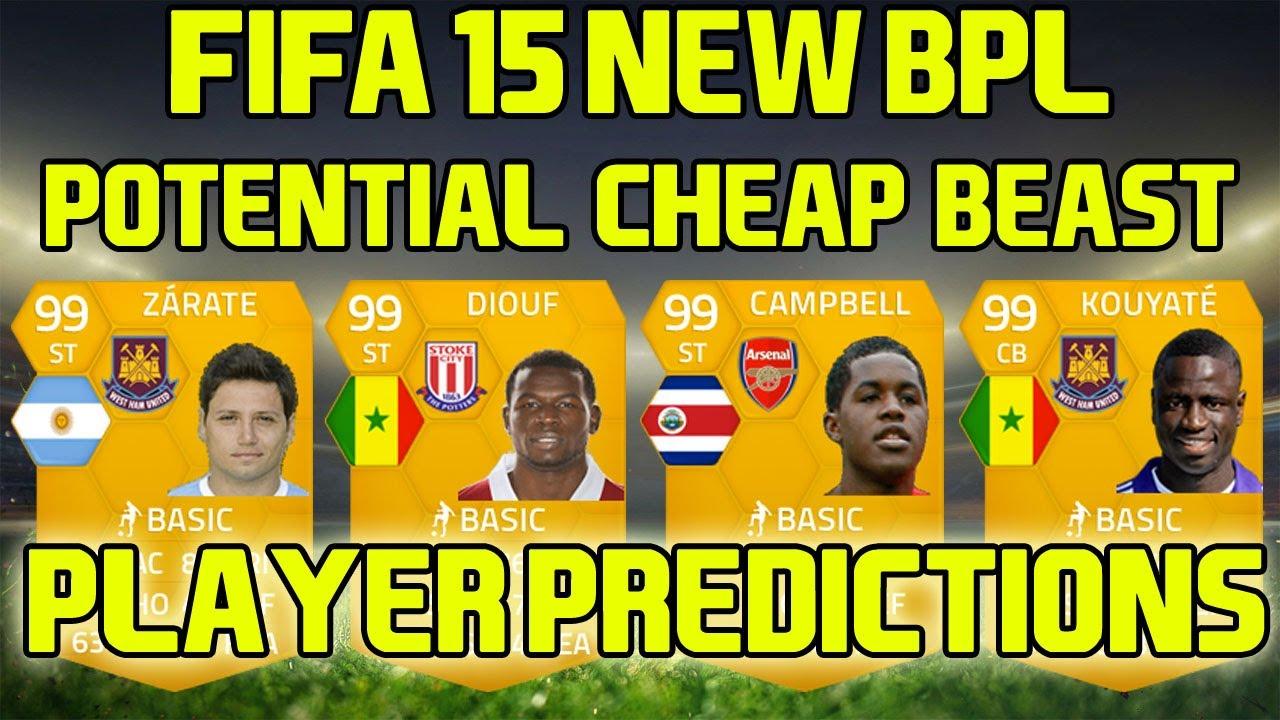 Fifa 15 - New BPL Potential