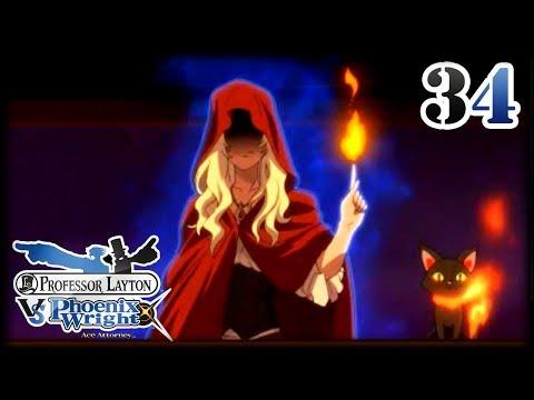 El Profesor Layton vs Phoenix Wright - Cap.34 Arcana, la Bruja Suprema