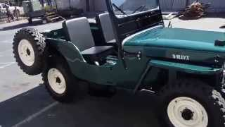 Restored 1953 Willys CJ3A Jeep