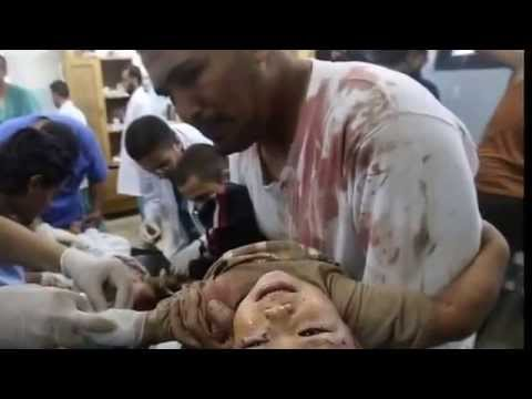 the bloody horror death of the Gaza
