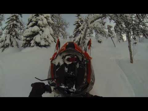 2014 Arctic Cat M8000 Limited153 Testing