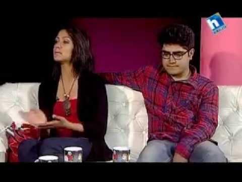 Priyanka Karki with Her Husband   Jeevan Saathi