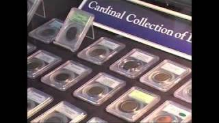 Martin Logies presents the complete Cardinal Collection Large Cent date set at the ANA.