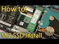 How to install M2 SSD in Asus FX504 laptop