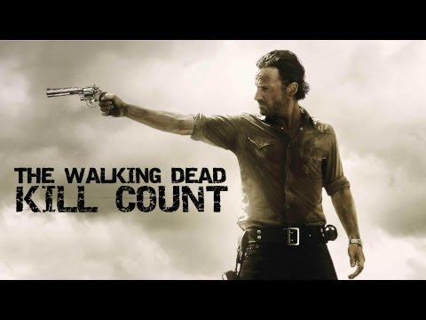 The Walking Dead - Walker/Zombie Kill Count [Season 1 + 2]
